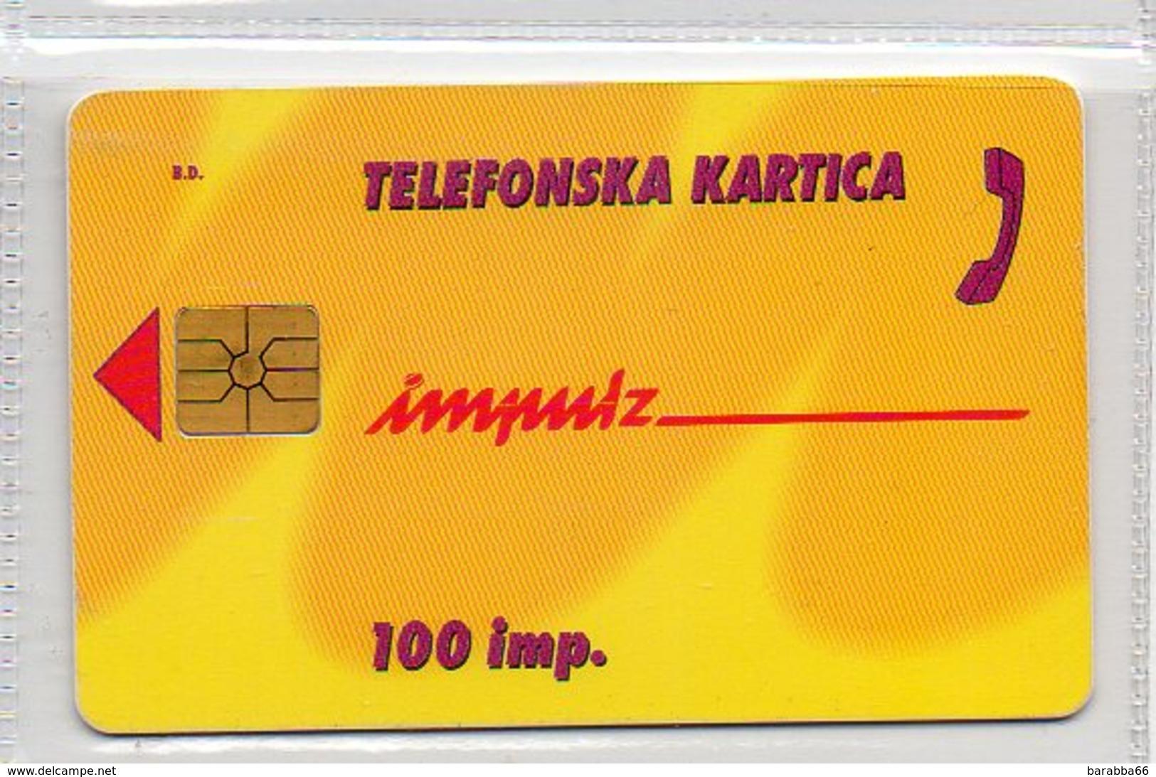 Impulz 100 Imp. - NKBM - Slovenia