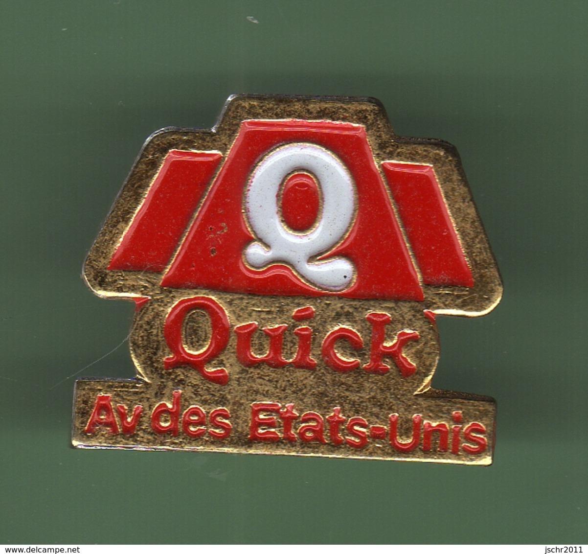 QUICK *** AVENUE DES ETATS-UNIS *** 0019 - McDonald's