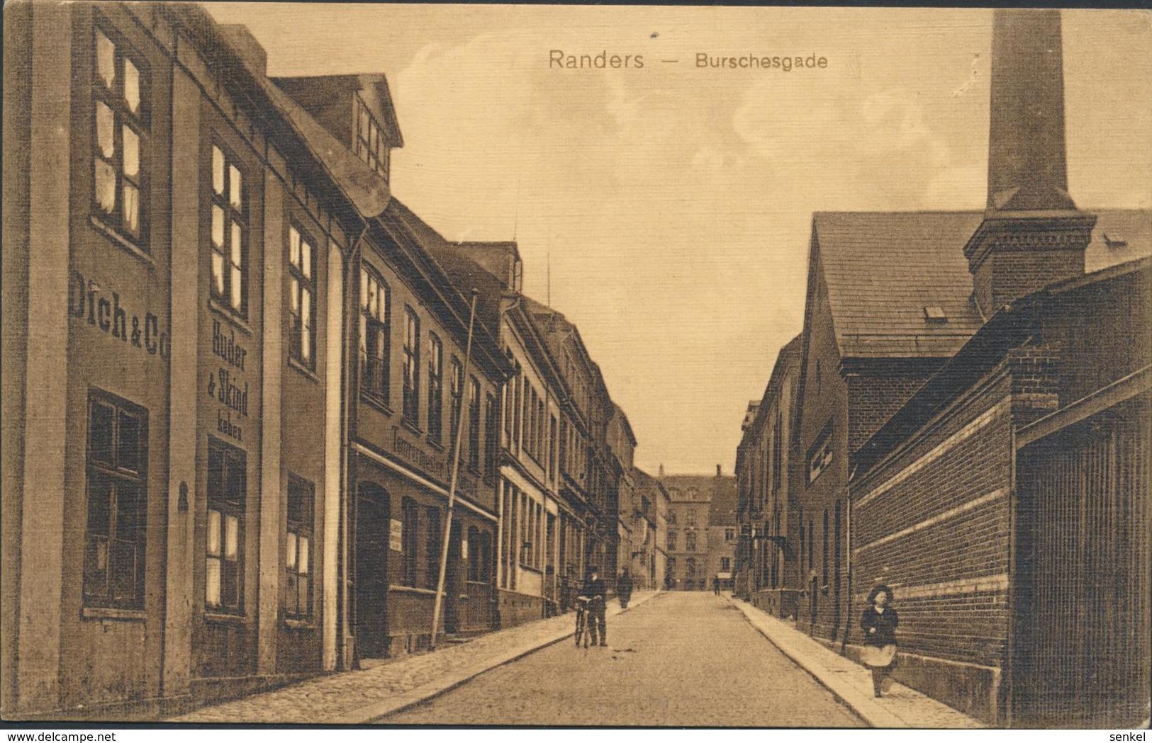 61-634 Denmark Dänemark Randers Burschgade Forlag Papirbazaren - Danemark
