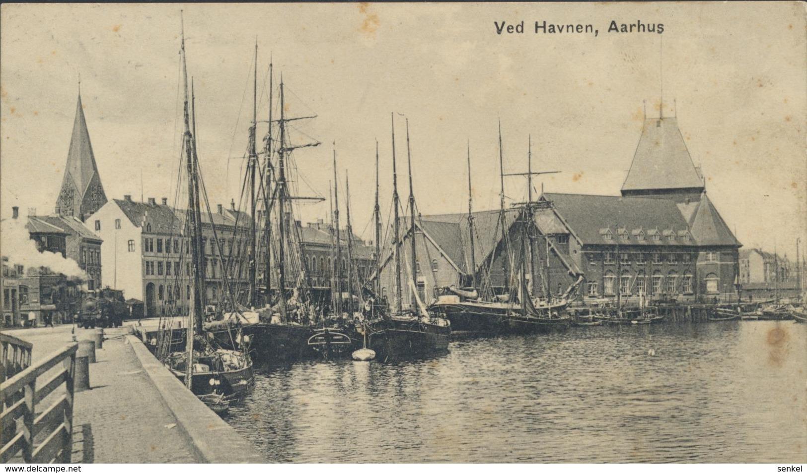 61-635 Denmark Dänemark Aarhus Ved Havnen - Dinamarca