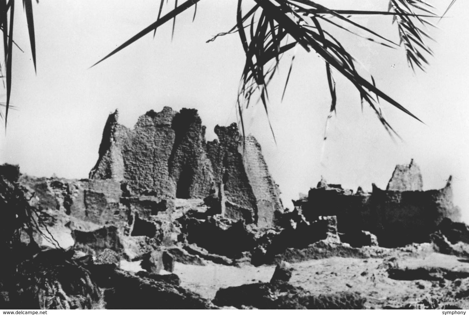 Niger. CPSM. SEGUEDINE.  Ruines D'un Ancien Village De Sel Gemme. - Niger