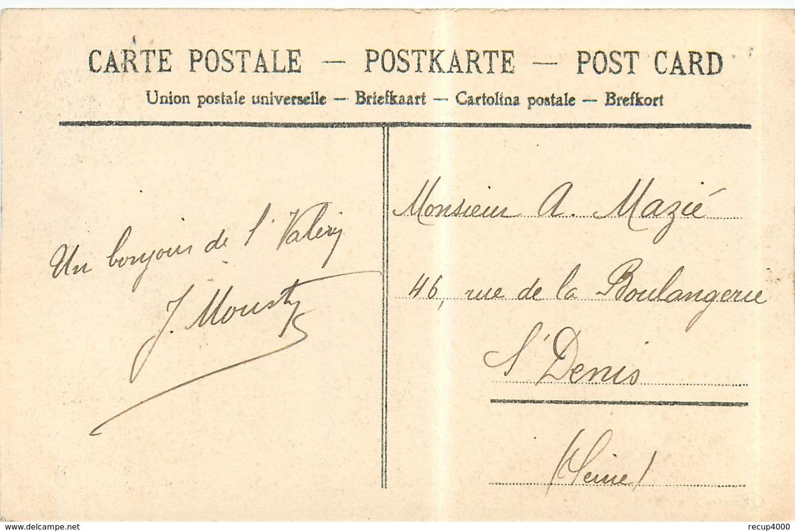 80 SAINT VALERY SUR SOMME En Pleine Mer    2scans - Saint Valery Sur Somme