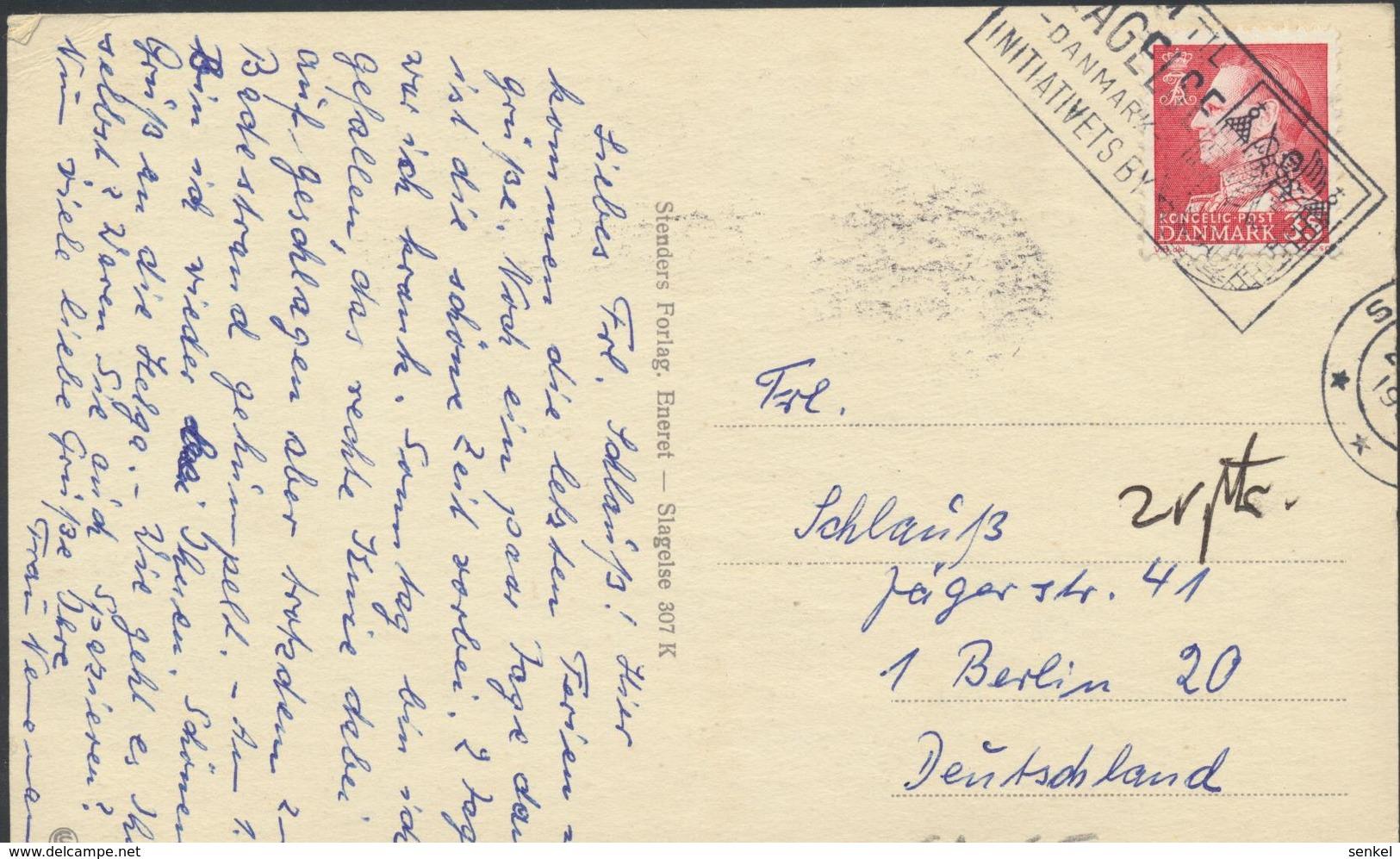 61-656 Danmark Denmark Dänemark Slagelse Michael Og Gragen Sent To Germany Forlag Stenders - Danemark