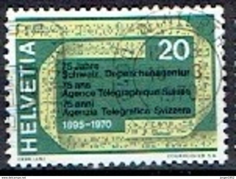 SWITZERLAND # FROM 1970 STAMPWORLD 912 - Suisse