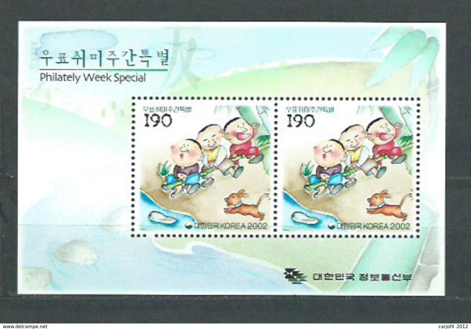 Corea Del Sur - Hojas 2002 Yvert 583 ** Mnh - Corée Du Sud