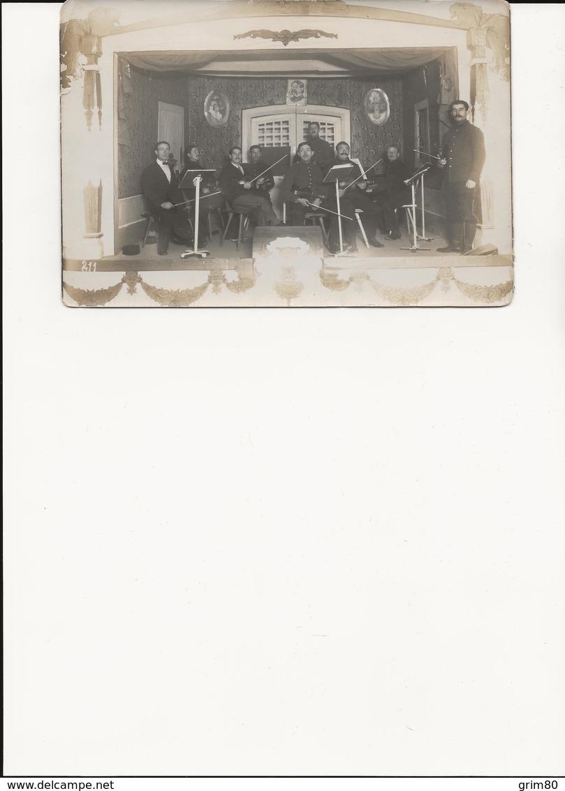 PHOTO   THEATRE    ASPERG     1915 - Lieux