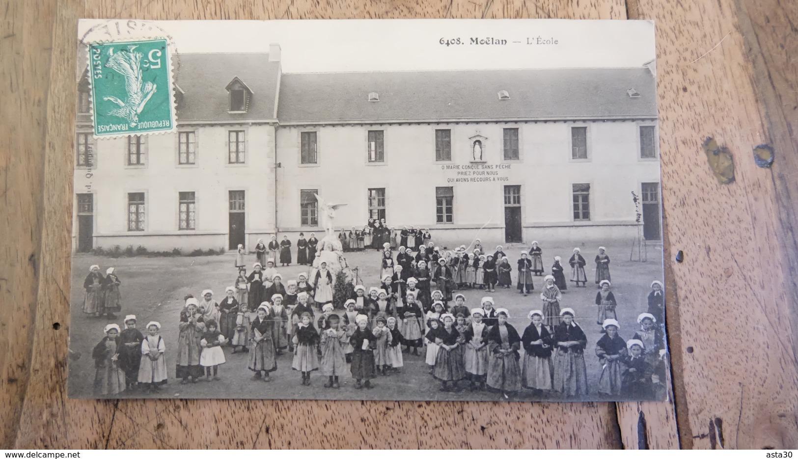 MOELAN : L'école  .................... MO-2390 - Moëlan-sur-Mer
