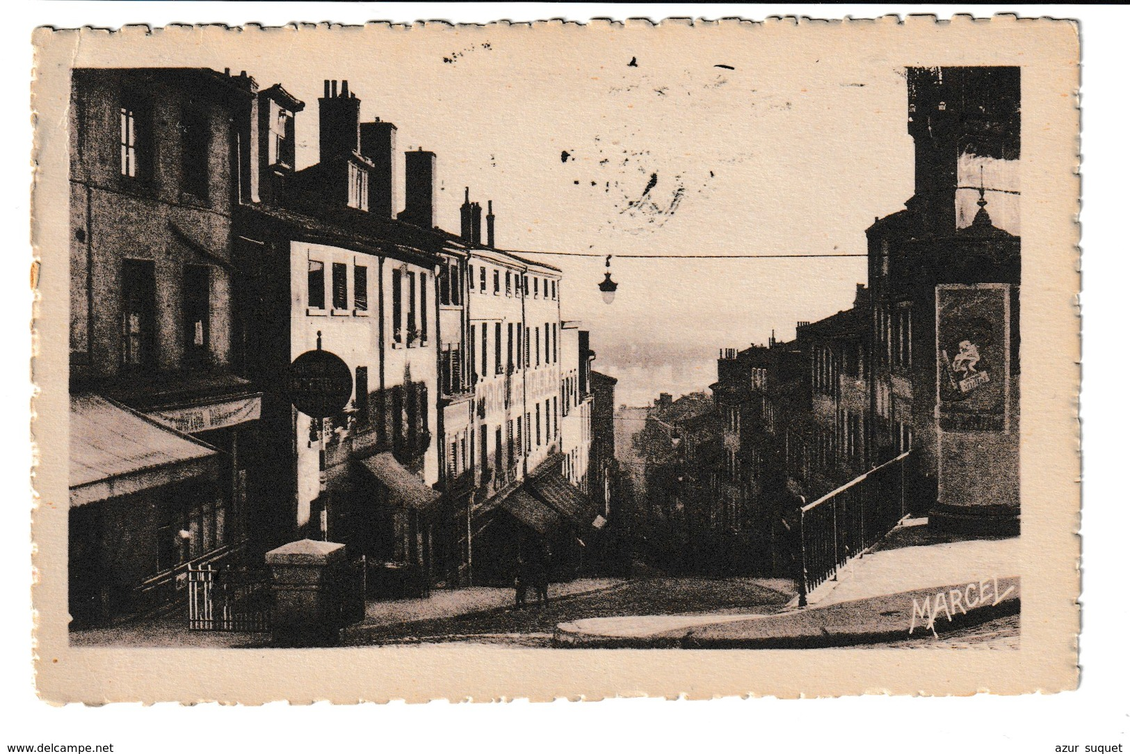 FRANCE / CPA / MONTEE DE LA GRANDE COTE / 1933 - Lyon