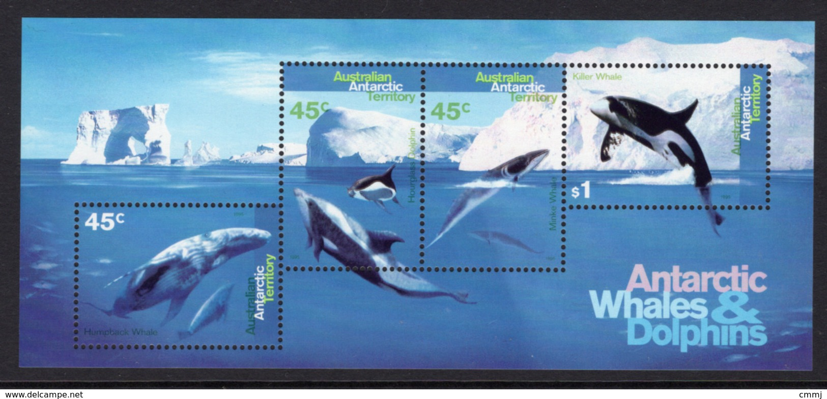 1995 - AUSTRALIAN ANTARTIC TERRITORY -  Yi.  BF 1 - NH - (REG2875.. 27) - Territoire Antarctique Australien (AAT)