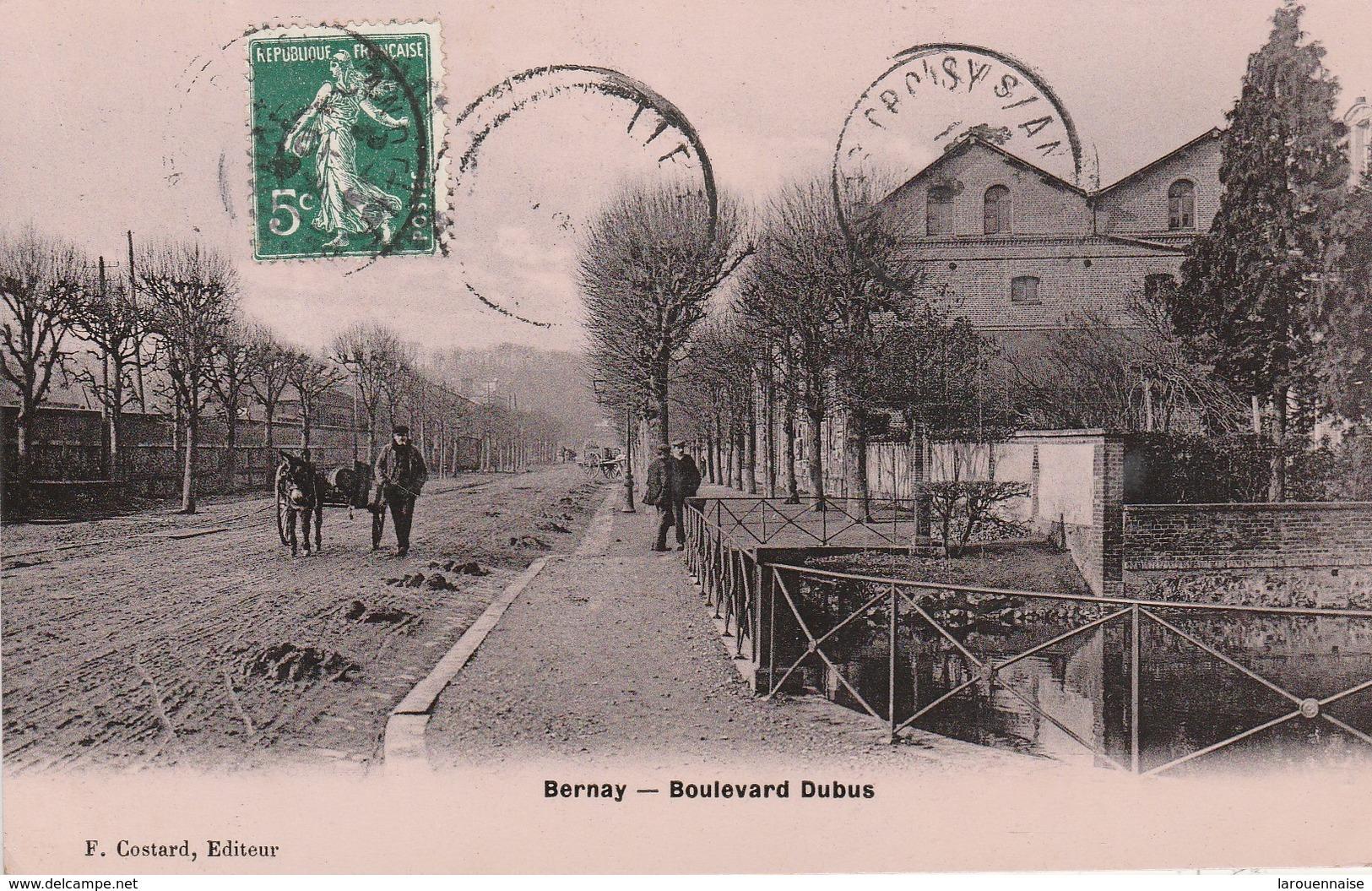 27 - BERNAY - Boulevard Dubus - Bernay