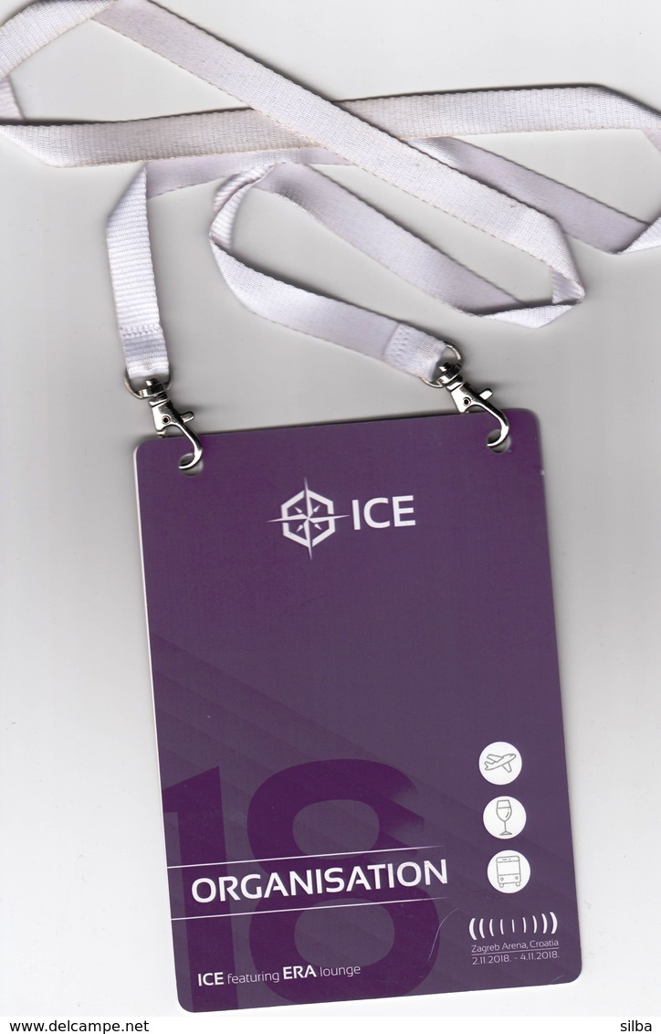 Croatia Zagreb 2018 / ICE - International Charter Expo - The Biggest Yacht Charter Event / Accreditation - Saisons & Fêtes