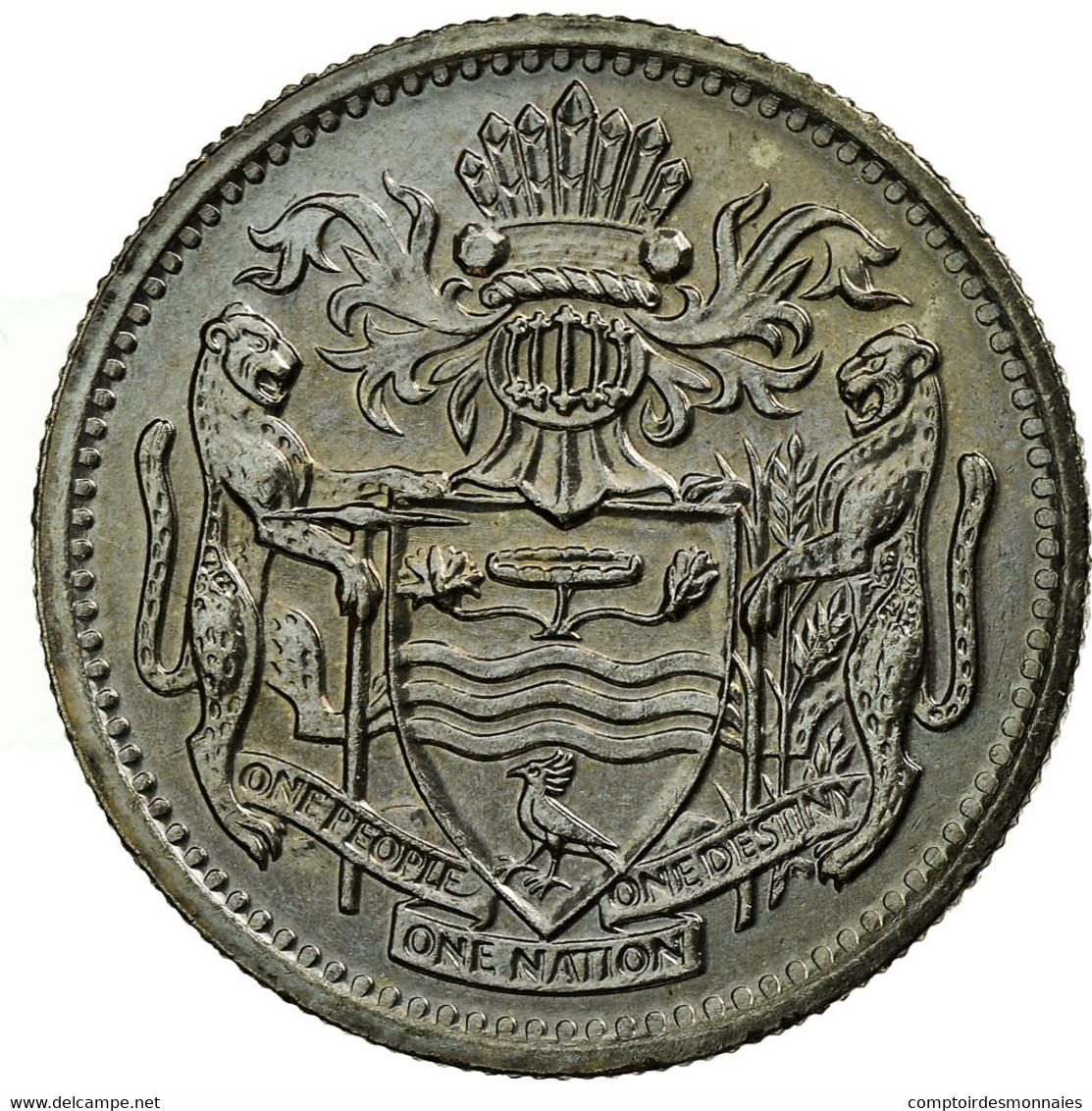 Monnaie, Guyana, 10 Cents, 1991, SPL, Copper-nickel, KM:33 - Guyana