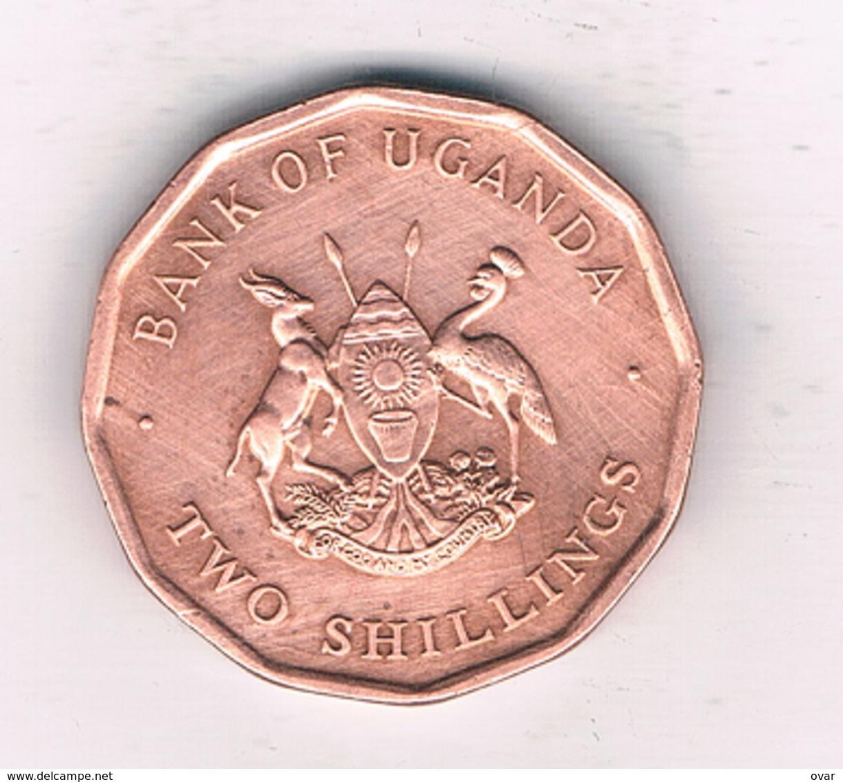 2 SHILLINGS 1987 OEGANDA /2518// - Ouganda