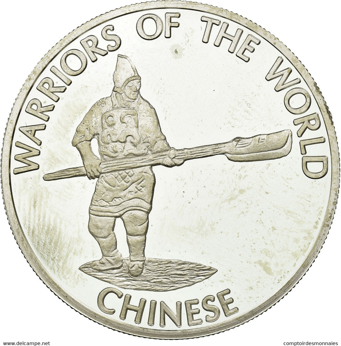 Monnaie, CONGO, DEMOCRATIC REPUBLIC, 10 Francs, 2010, SPL, Silver Plated Copper - Congo (Repubblica Democratica 1998)