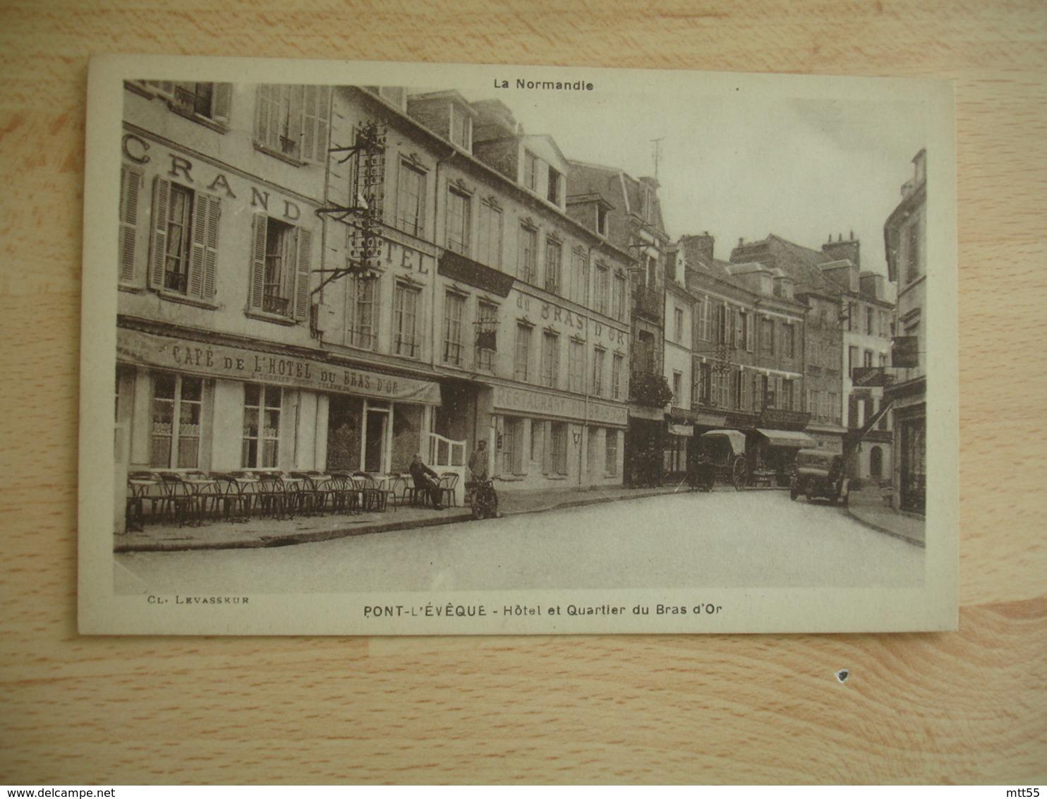 Pont L Eveque Hotel Bras D Or - Pont-l'Evèque