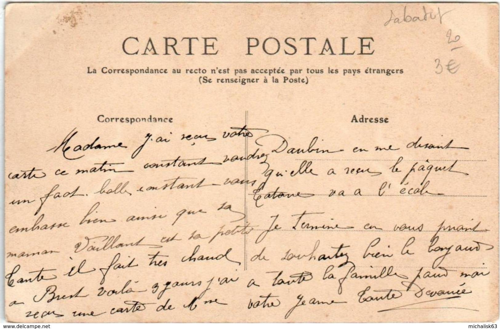 4KSO 339 CPA - BIARRITZ - COIN DE PLAGE A MAREE BASSE - Biarritz