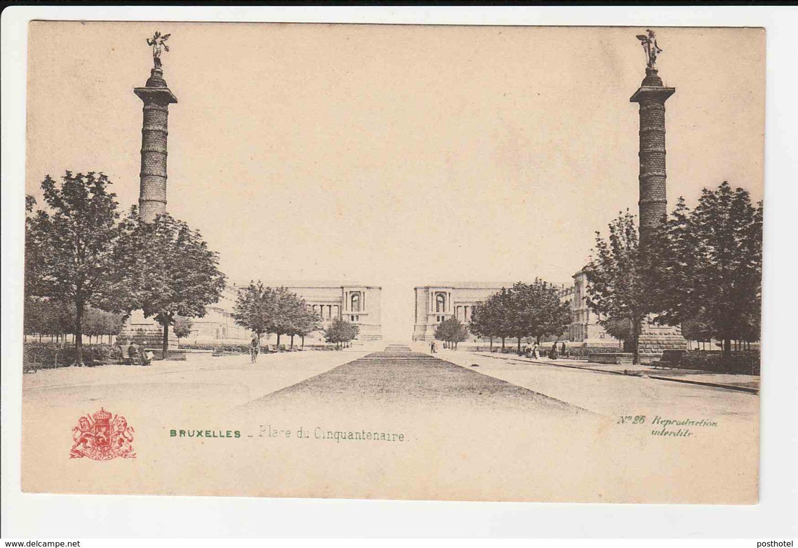 Bruxelles - Place Du Cinquantenaire - Belgien
