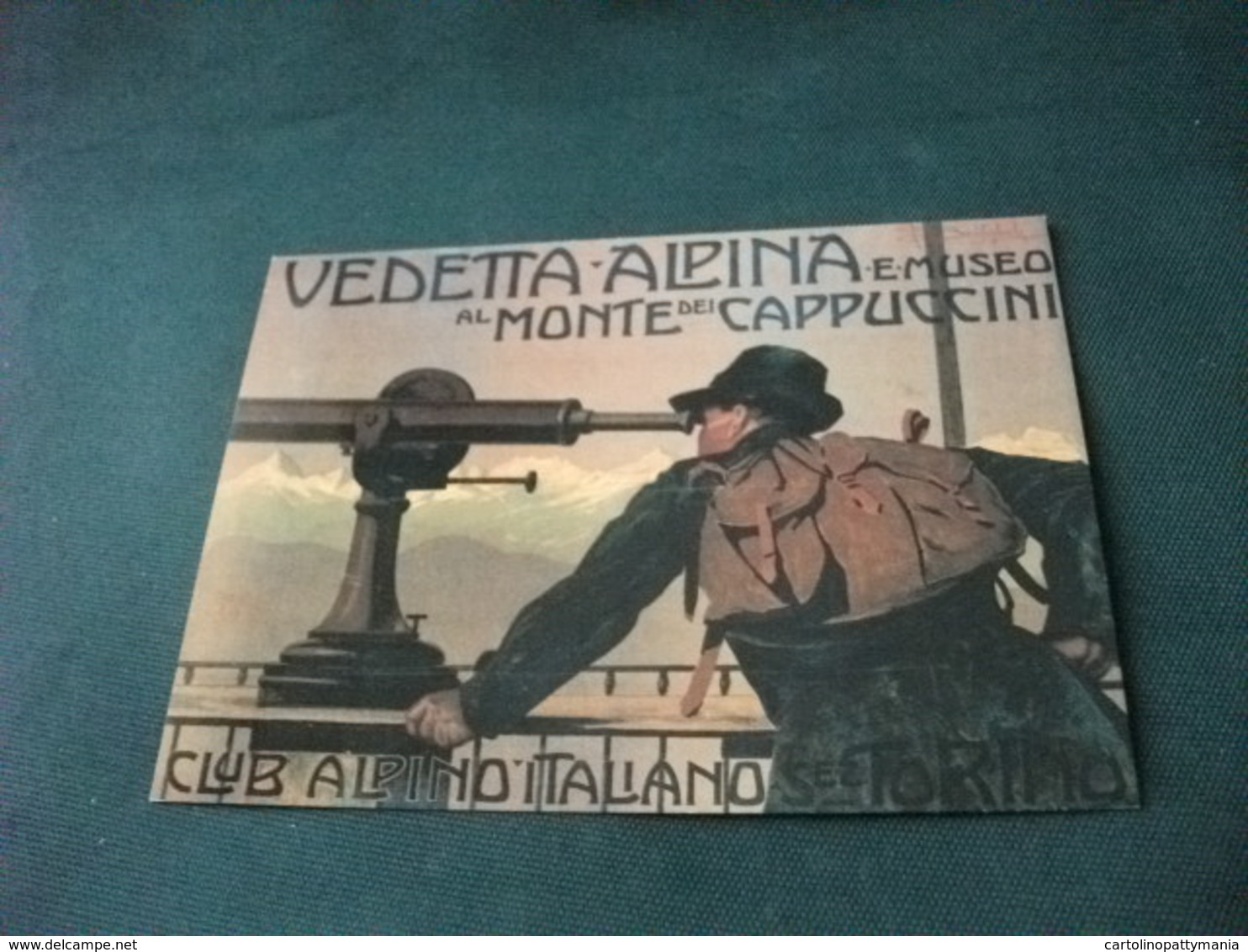 VEDETTA ALPINA MONTE CAPPUCCINI  CLUB ALPINO ITALIANO TORINO - Alpinisme