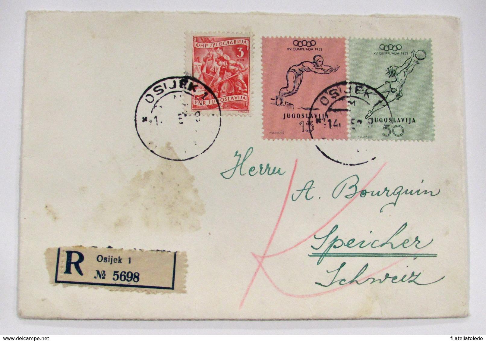 Yugoslavia 555B-613-15 - Lettres & Documents