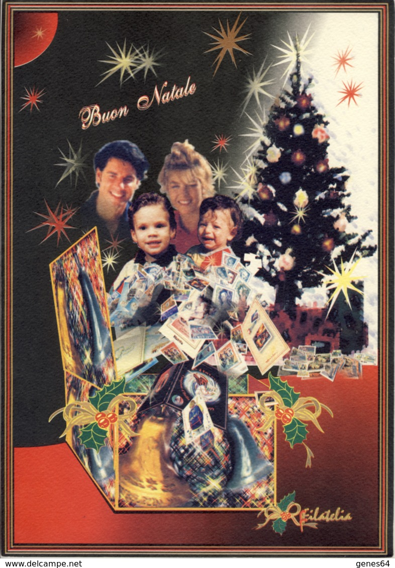 Natale - 1999 Folder - Paquetes De Presentación
