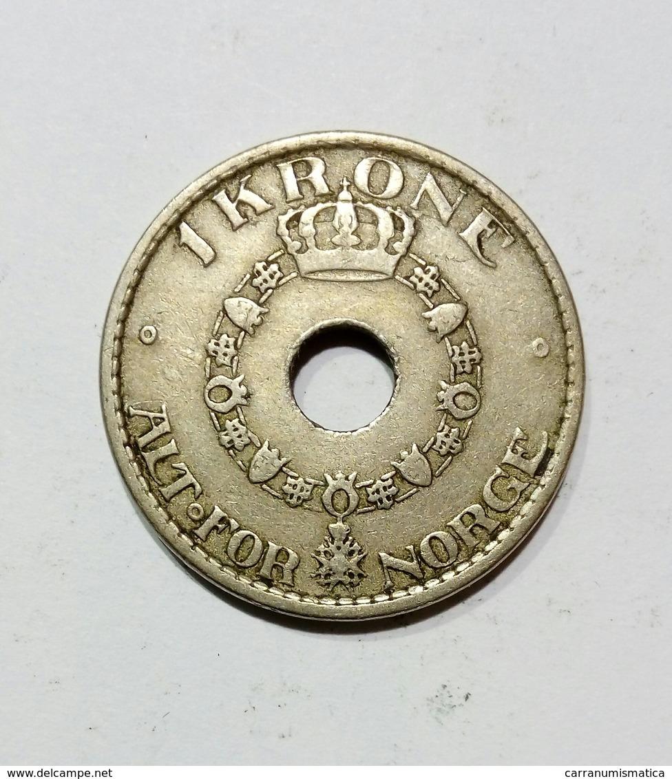 NORVEGIA / NORWAY - 1 KRONE ( 1925 ) - Norvège