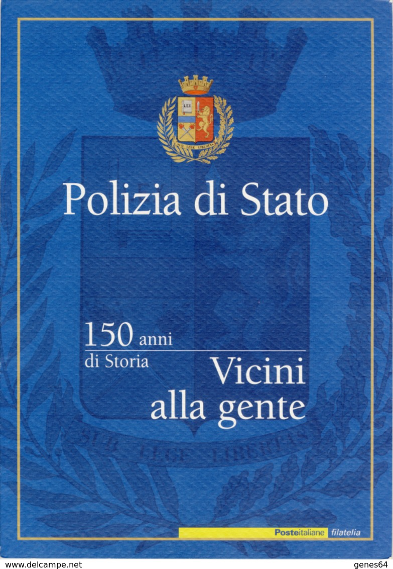 Polizia Di Stato - Anno 2002 - Folder - Paquetes De Presentación