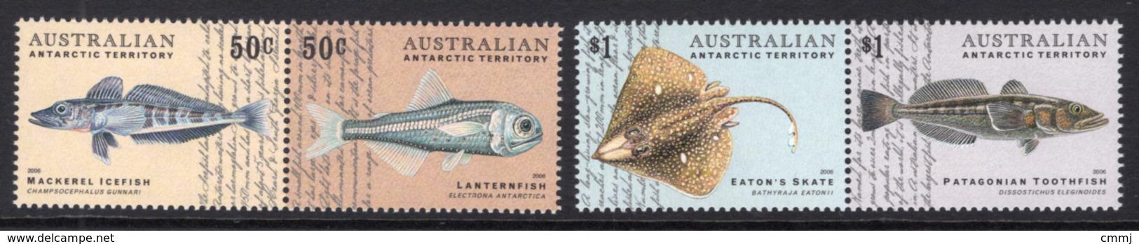 2006 - AUSTRALIAN ANTARTIC TERRITORY -  Yi.  165/168 - NH - (REG2875.. 28) - Neufs