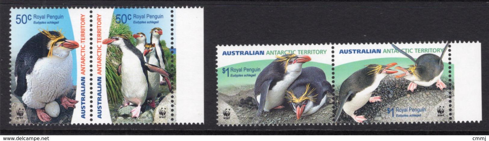 2007 - AUSTRALIAN ANTARTIC TERRITORY -  Yi.  169/172 - NH - (REG2875.. 29) - Territoire Antarctique Australien (AAT)