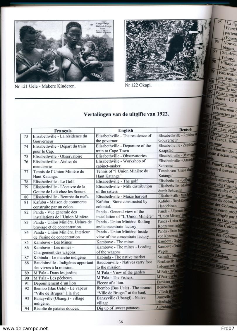 Les Entiers Postaux Illustrés Du Congo Belge Et Du Ruanda-Urundi - émissions De 1912/22/27 - 1918 -  En Néerlandais - Entiers Postaux