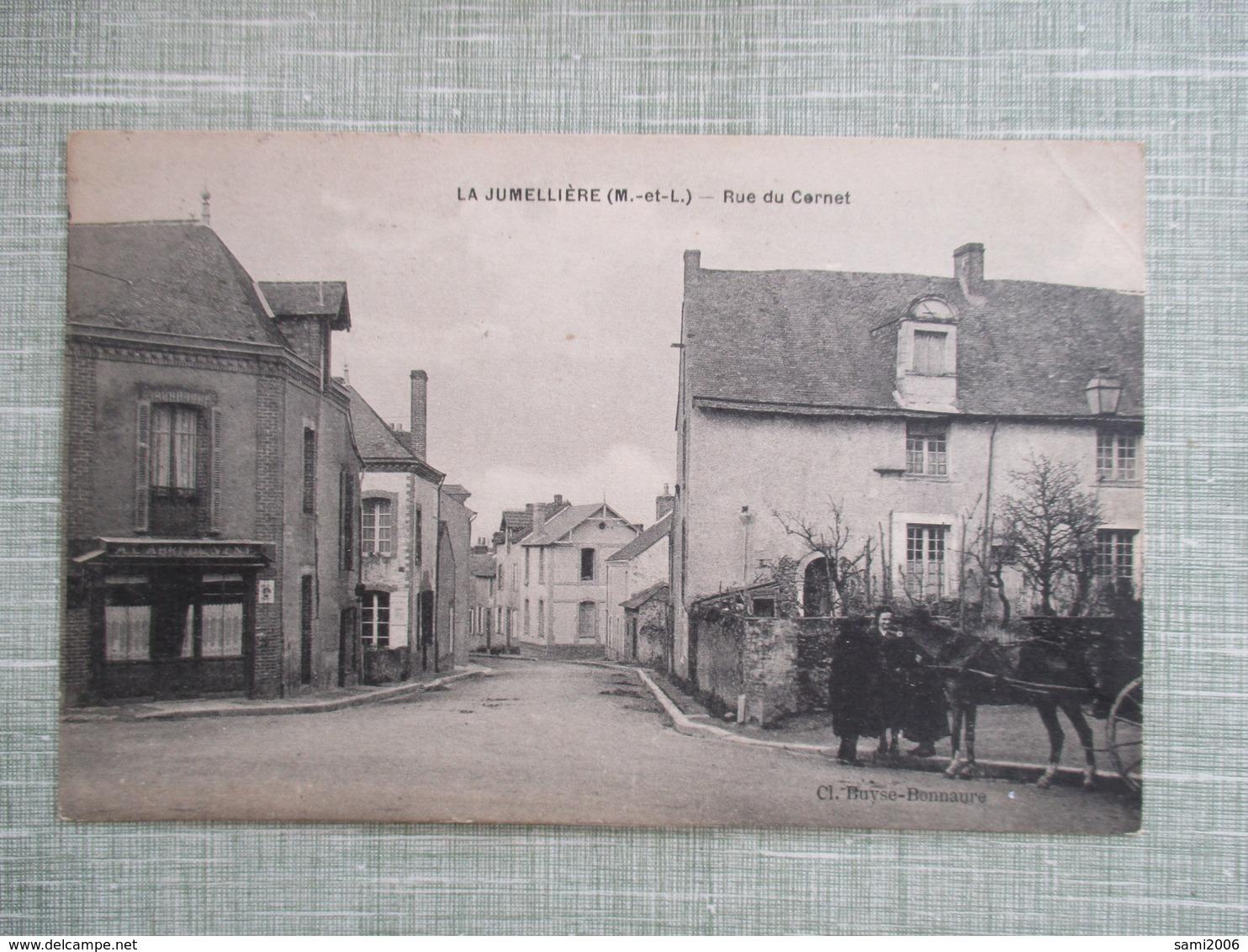 CPA 49 LA JUMELLIERE RUE DU CORNET - Other Municipalities