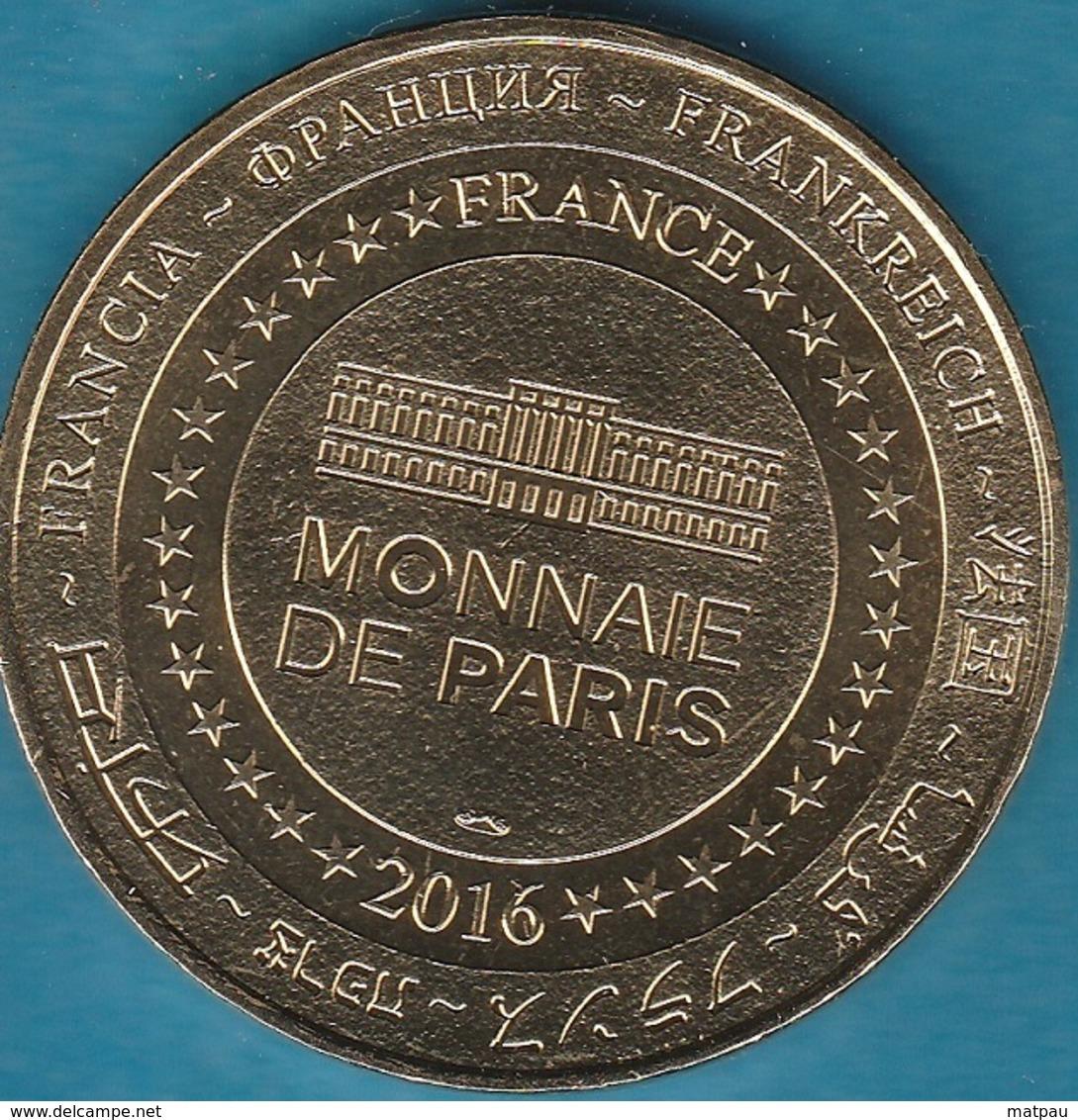 MONNAIE DE PARIS   34 PALAVAS LES FLOTS - LE PHARE ET LA BARQUE 2016 - 2016