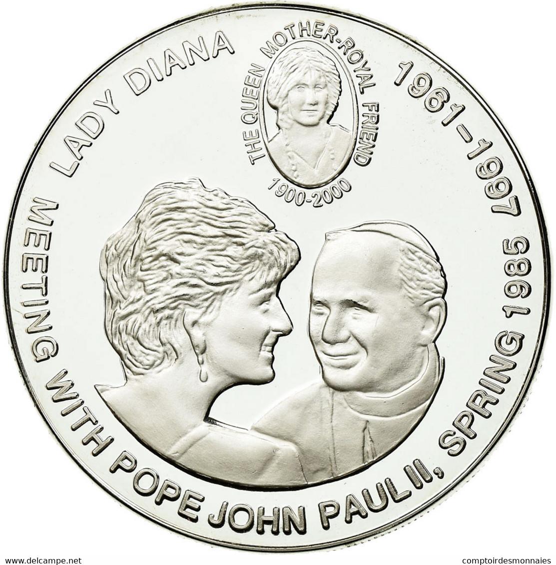 Monnaie, CONGO, DEMOCRATIC REPUBLIC, 5 Francs, 2000, FDC, Copper-nickel, KM:64 - Kongo (Dem. Republik 1998)