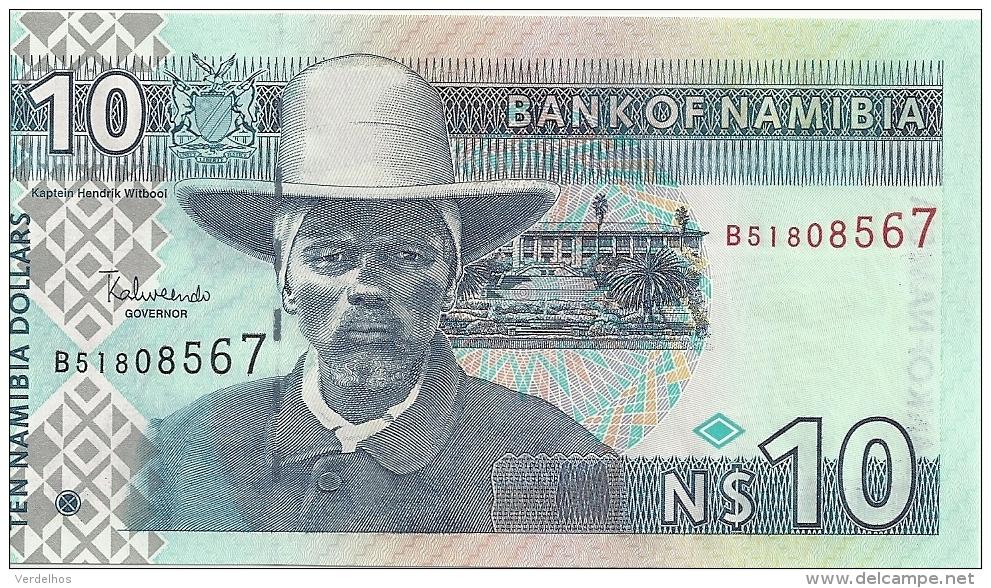 NAMIBIE 10 NAMIBIA DOLLARS ND2001 UNC P 4 - Namibia
