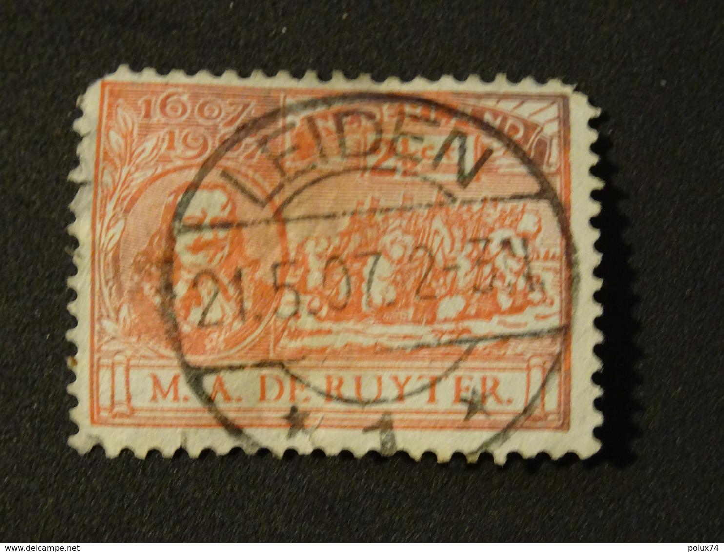 PAYS-BAS  LEIDEN 1907 - 1891-1948 (Wilhelmine)