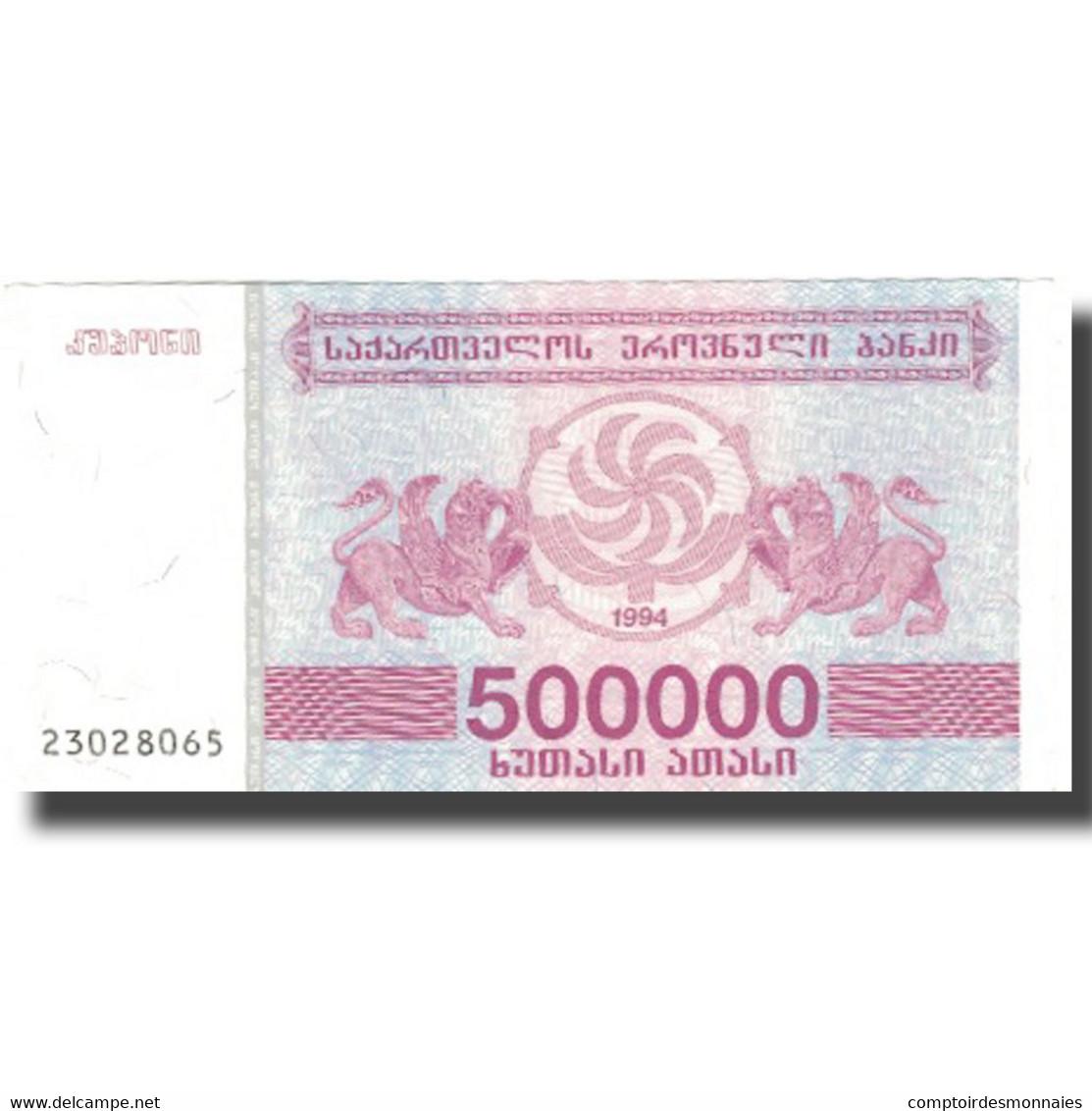 Billet, Géorgie, 500,000 (Laris), 1994, 1994, KM:51, SPL - Géorgie