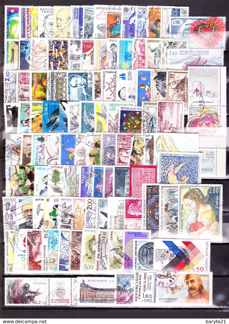 Lot 100 Timbres - France