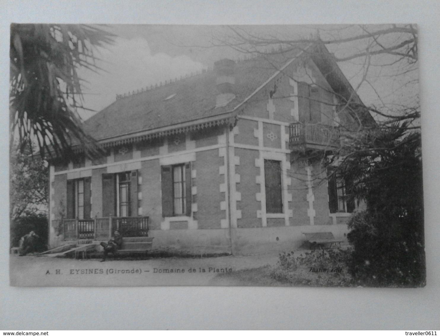 Eysines, Domaine De La Plante, Ca. Um 1920 - France