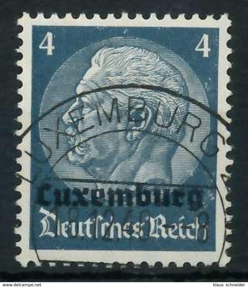 BES. 2WK LUXEMBURG Nr 2 Gestempelt X889FDE - Besetzungen 1938-45