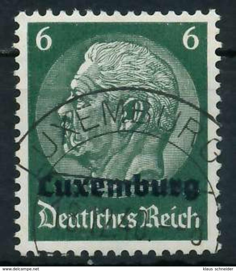 BES. 2WK LUXEMBURG Nr 4 Gestempelt X889FE2 - Besetzungen 1938-45
