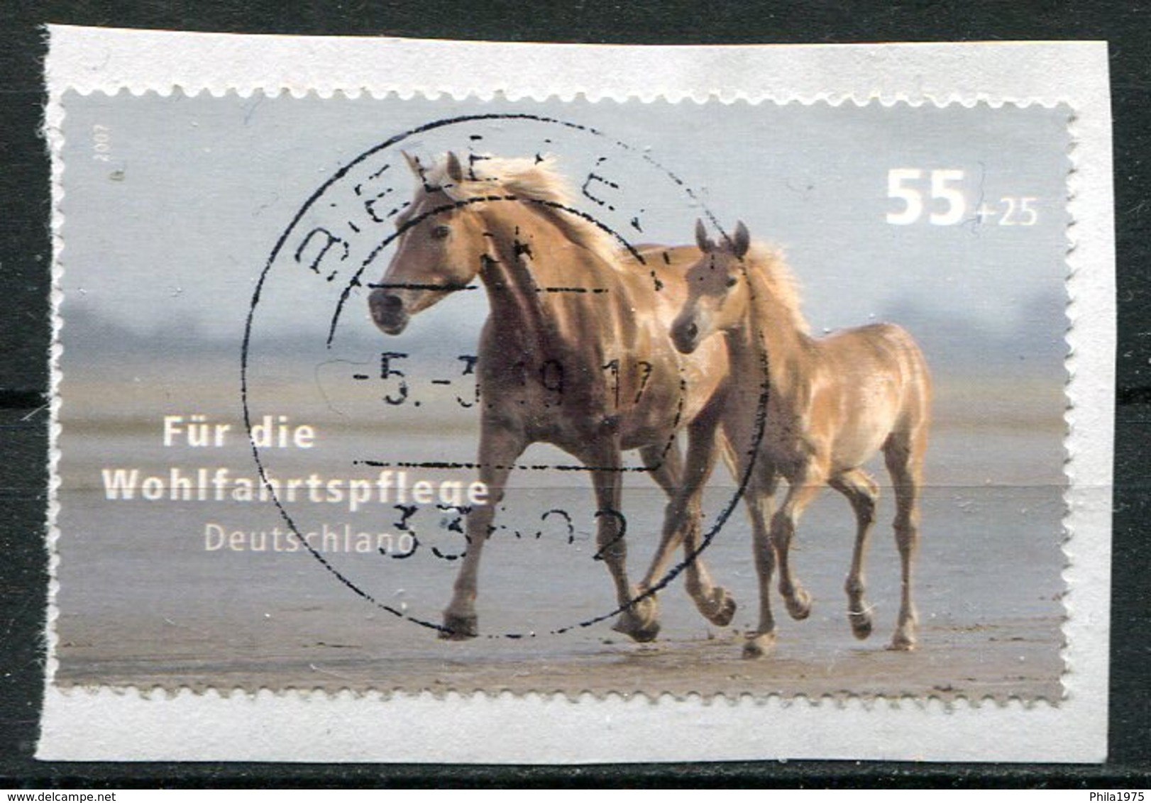 Deutschland Michel-Nr. 2635 Vollstempel Auf Briefstück - Gebraucht