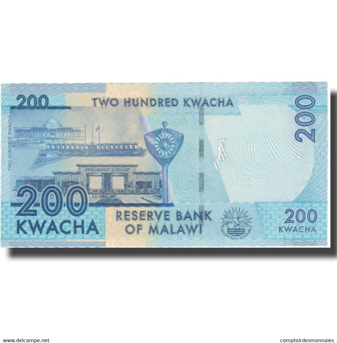 Billet, Malawi, 200 Kwacha, 2014, 2014-01-01, NEUF - Malawi