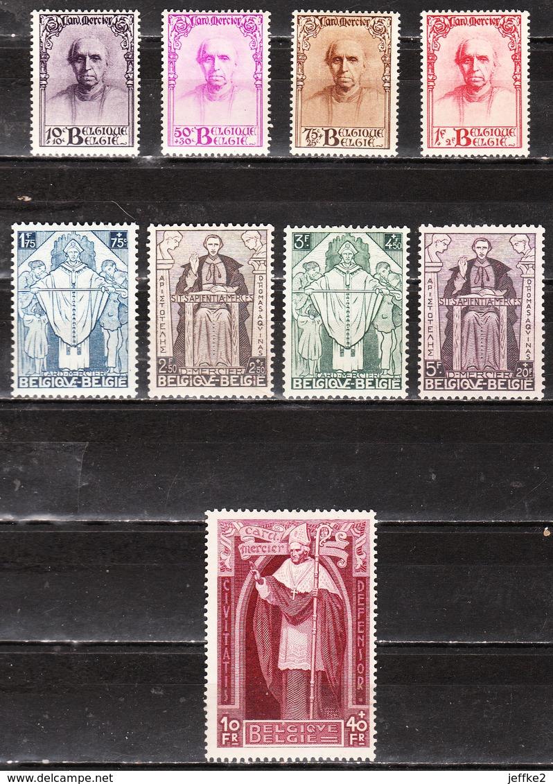 342/50*  Cardinal Mercier - Série Complète - MH* - LOOK!!!! - Belgique