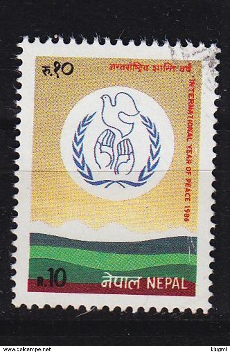 NEPAL [1986] MiNr 0475 ( O/used ) UNO - Nepal