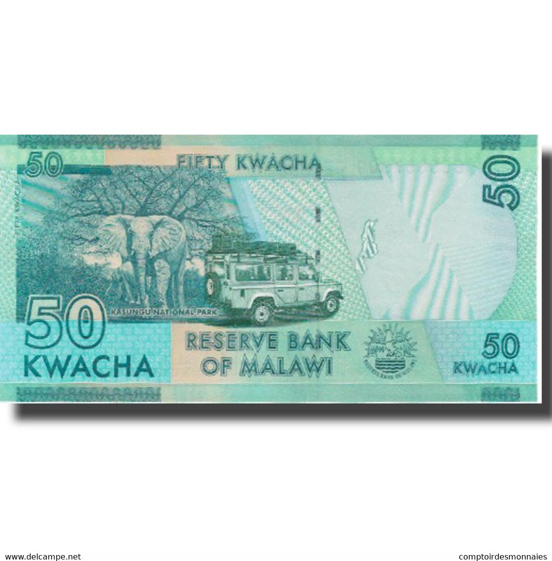 Billet, Malawi, 50 Kwacha, 2016, 2016-01-01, NEUF - Malawi