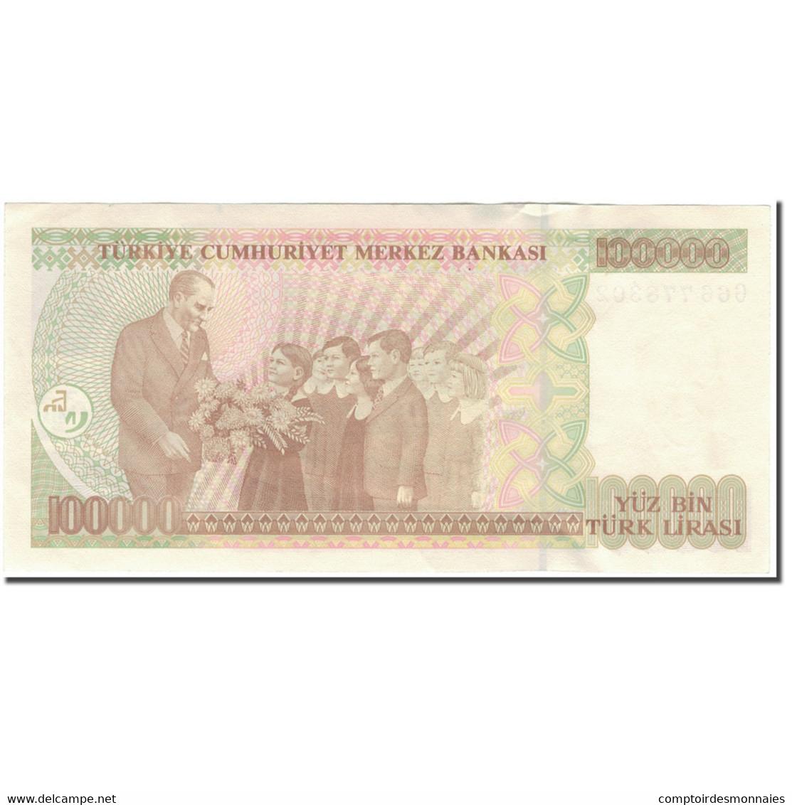 Billet, Turquie, 100,000 Lira, 1970, KM:205, SUP+ - Turquie