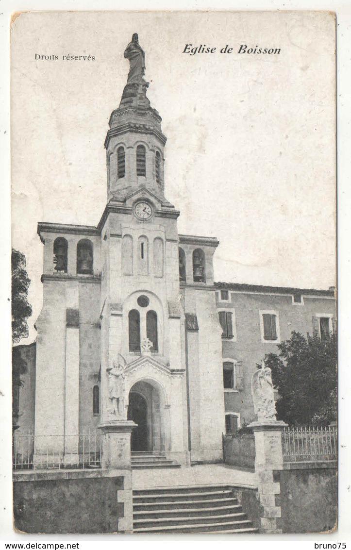 30 - Eglise De BOISSON - Other Municipalities