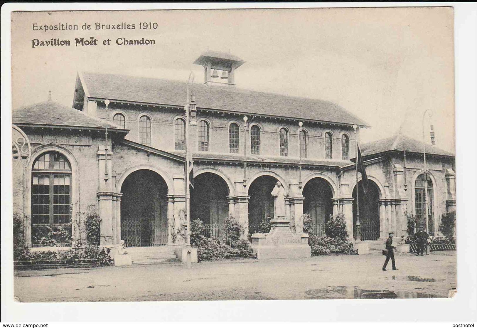Exposition De Bruxelles 1910 - Pavillon Moet Et Chandon - Belgien