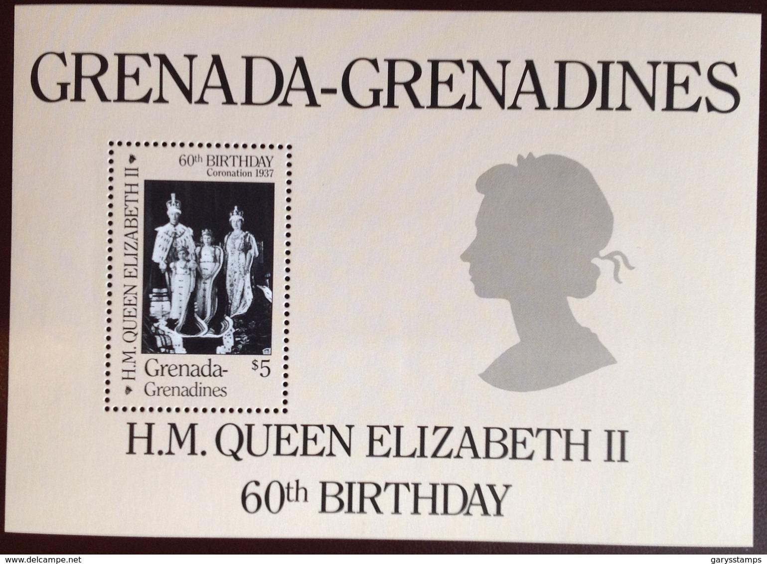 Grenada Grenadines 1980 Queen's 60th Birthday Minisheet MNH - Grenade (1974-...)