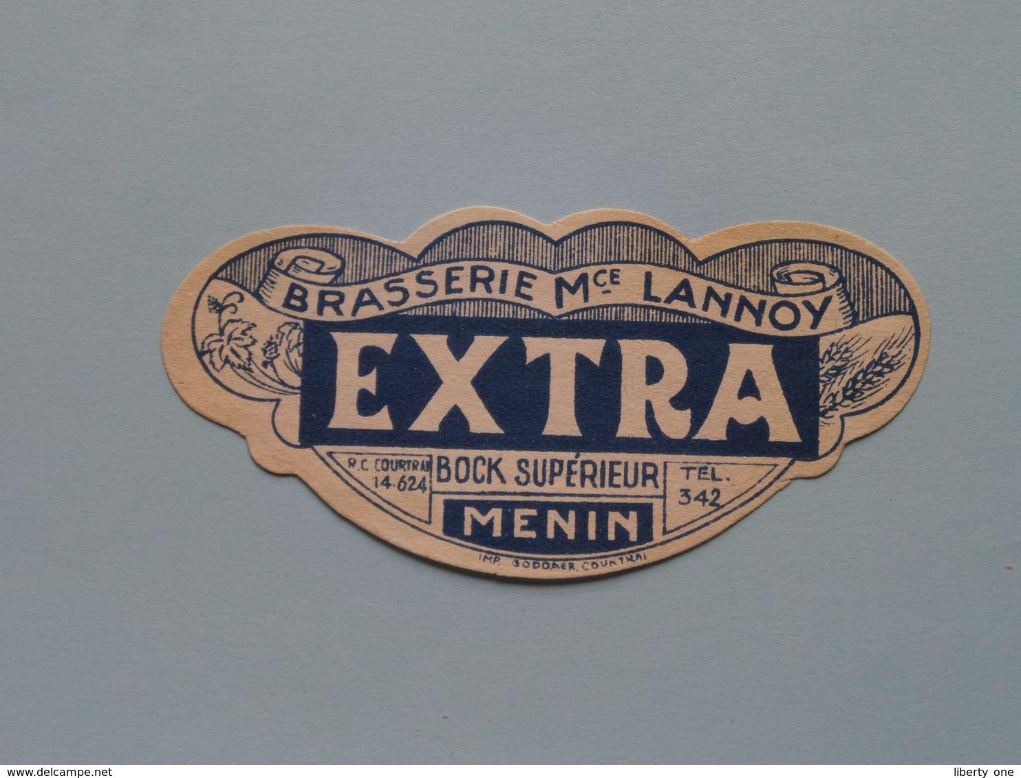 Etiketten / Etiquettes De Collectionneur / Verzamelaar De Regio > MENIN / MENEN > Detail Zie Foto ! - Unclassified