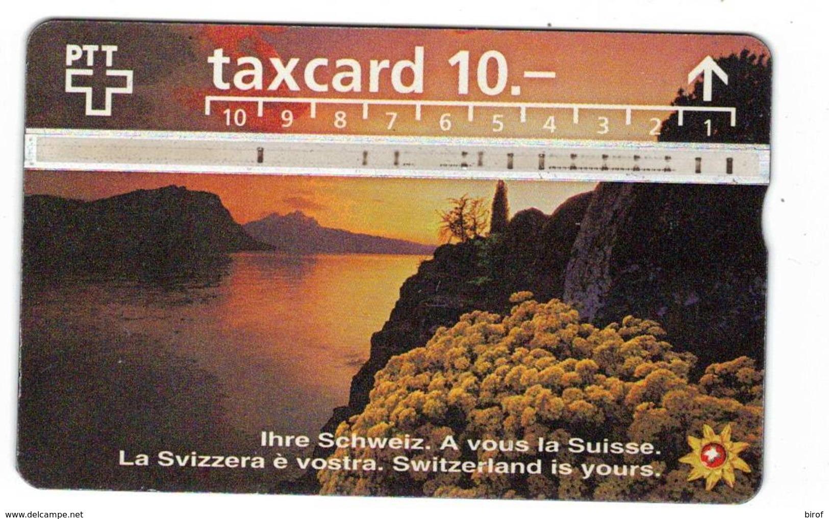 TESSERA TAXCARD 10 (SVIZZERA) - Svizzera
